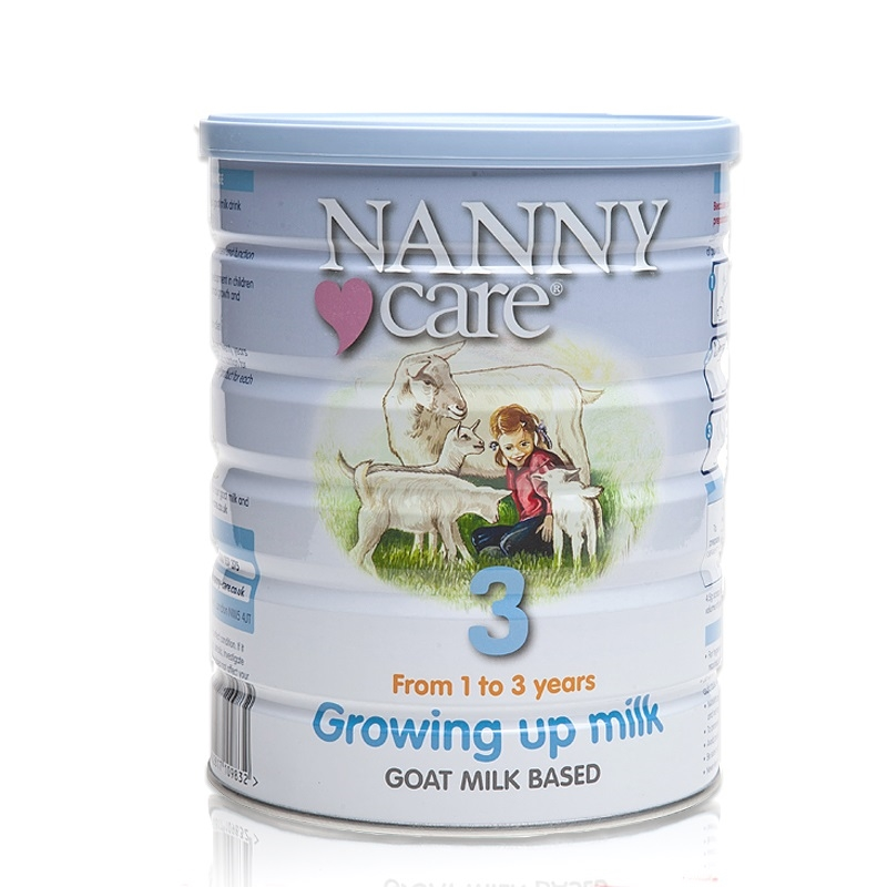 Nannycare Growing Up Milk 400g 4 Tubs