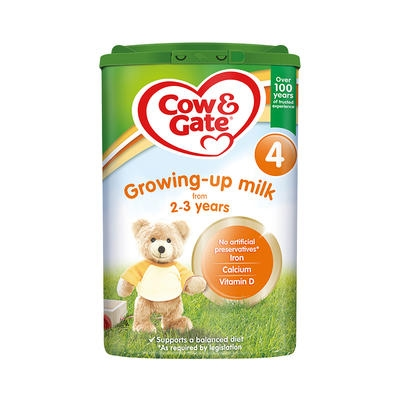 Cow & Gate 4 Growing Up Milk 2-3 Years 800g 1 tub