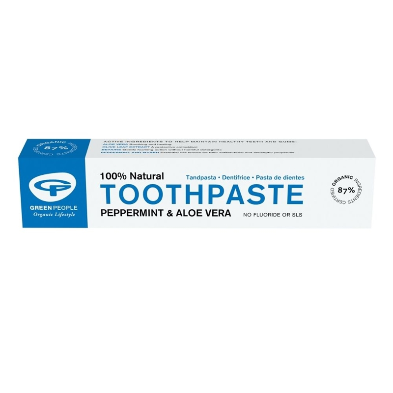 Green People Peppermint Toothpaste 50ml 50ml 50ml