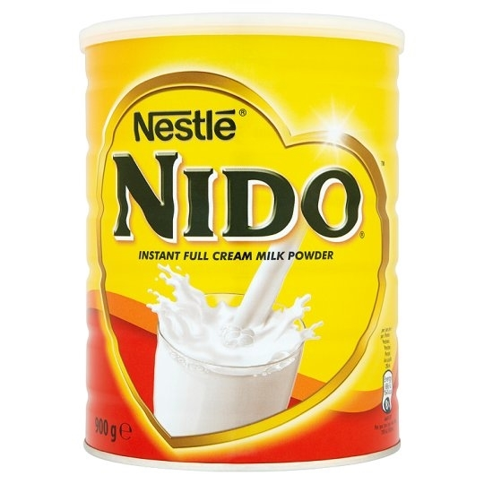 Nestle Nido Instant Full Cream Milk Powder 900g 1 tub
