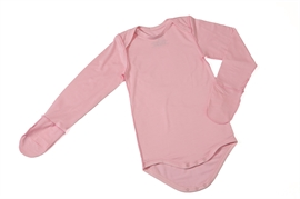 imuDERM Baby Grow with mittens Pink