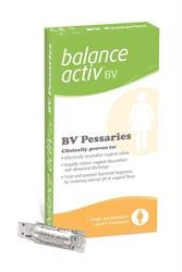 Balance Activ BV Vaginal Pessaries 7 pessaries box