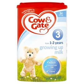 Cow & Gate 3 Growing Up Milk 1-2 Years 900g
