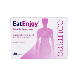 EatEnjoy Balance Digestive Enzyme Supplement 20 Capsules