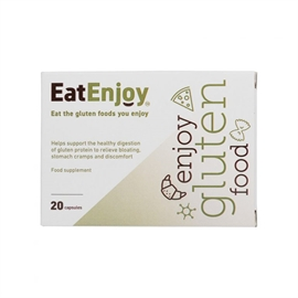 EatEnjoy Gluten Digestive Enzyme Supplement 20 Capsules