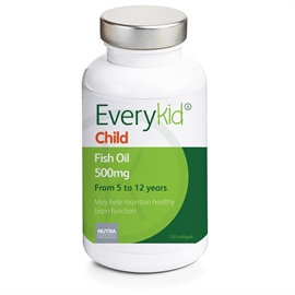 Everykid Childrens Fish Oil 500mg Softgels