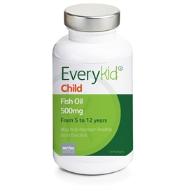Everykid Childrens Fish Oil 500mg 120 Capsules