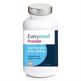 Everyman Prostate Saw Palmetto & Zinc 800mg