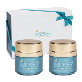 Jivesse Marine Collagen Cream & Soft Cream Limited Edition Gift Set