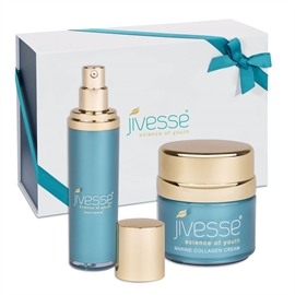 Jivesse Marine Collagen Cream & Night Serum Limited Edition Gift Set