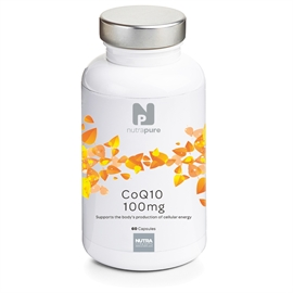Nutrapure CoQ10 100mg 60 Tablets