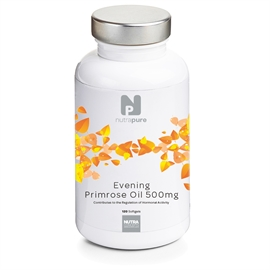 Nutrapure Evening Primrose Oil 500mg