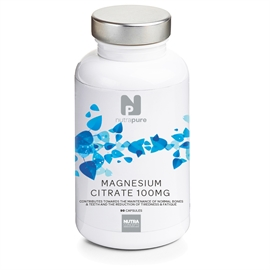 Nutrapure Magnesium Citrate 100mg