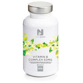 Nutrapure Vitamin B-Complex 50mg with Nicotinamide