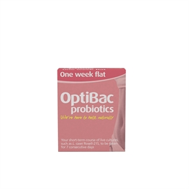 Optibac Probiotics One Week Flat 7 Sachets