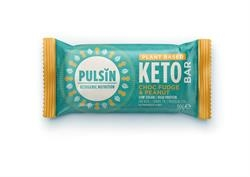 Pulsin Choc Fudge Pnt Keto Bar 50g