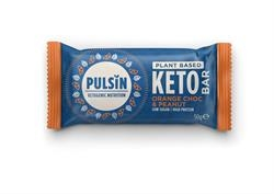 Pulsin Choc Orange & Peanut Keto Bar 50g