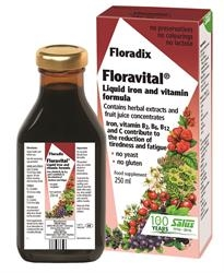 Floradix Floravital Yeast And Gluten Fr 250ml