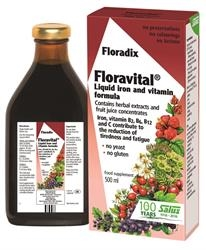 Floradix Floravital Yeast And Gluten Fr 500ml
