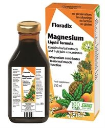 Floradix Magnesium Liquid Mineral Suppl 250ml