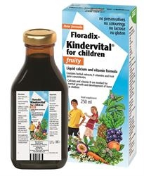 Floradix Kindervital Fruity fo Children 250ml