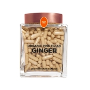 Wakaya Perfection Organic Pink Fijian Ginger Capsules (250 CT)