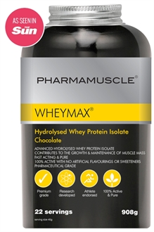 WHEYMAX® Hydrolysed Whey Protein Isolate 908g