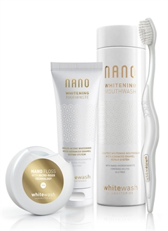 WhiteWash Nano Whitening Kit with Expanding Floss