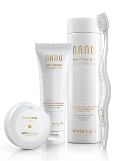 WhiteWash Nano Whitening Kit with Floss Tape
