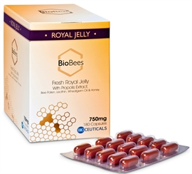 BioBees Fresh Royal Jelly Capsules