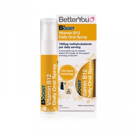 BetterYou Boost Vitamin B12 Daily Oral Spray 25ml