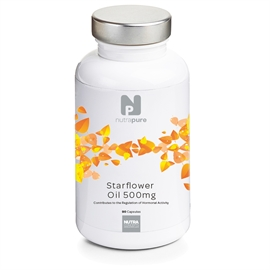Nutrapure Starflower Oil 500mg