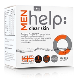 help clear skin MEN - Out of Stock