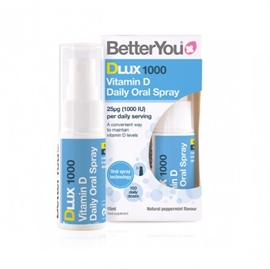 BetterYou DLUX 1000 Daily Vitamin D Oral Spray 15ml