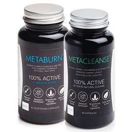 Metaburn Fat Burner & Metacleanse Detox