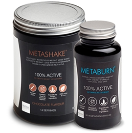Metaburn Fat Burner & Metashake Weight Loss Shake