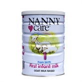 NANNYcare First Infant Milk 400g