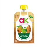 Annabel Karmel Organic Mango Apple and Coconut Milk Puree 6x100g
