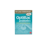 Optibac Probiotics For Your Cholesterol 30 plus 30 Capsules