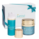 Jivesse Marine Collagen Cream & Exfoliating Cleansing Wash Limited Edition Gift Set