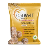 OatWell Snack Bites Coconut 50g (1 Serving)