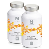 Nutrapure Evening Primrose & Starflower Oil